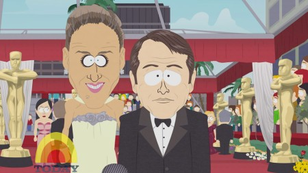 "Sarah as seen on Comedy Central's hit show, ""South Park."""